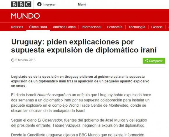 BBC en su versión en español