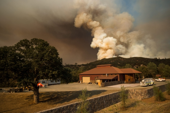 Incendio en California. Foto: Efe