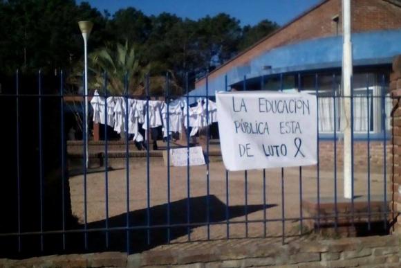 Escuela N° 226 de Salinas. Foto: Vanessa Viera.