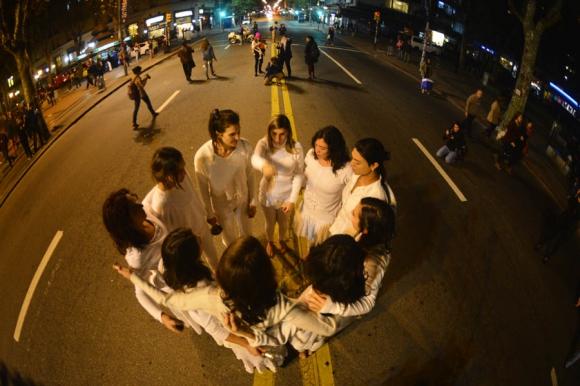 marcha #NiUnaMenos. Foto: Gerardo Pérez