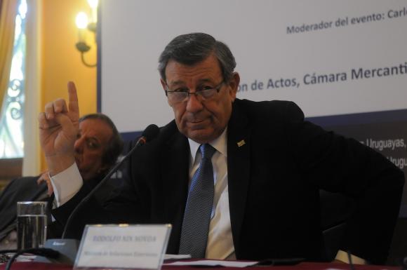 Rodolfo Nin Novoa. Foto: Ariel Colmegna