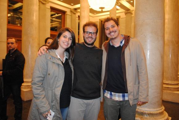 Lorena Chiesa, Rodrigo Álvarez, Emiliano Berntone.