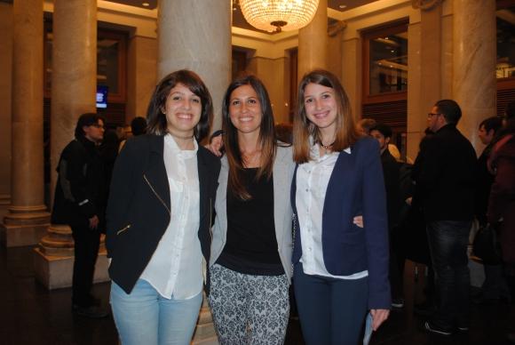 Victoria Correa, Gimena Fernández, Antonela Correa.