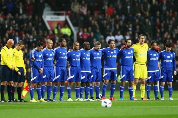 Lluvia de estrellas en Old Trafford - Ovación - 15/11/2015
