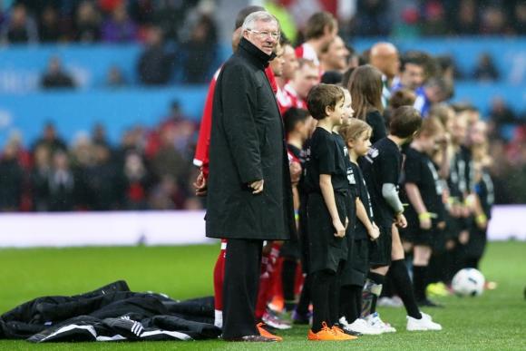 Sir Alex Ferguson dirigió a uno de los equipos. Foto: Reuters.