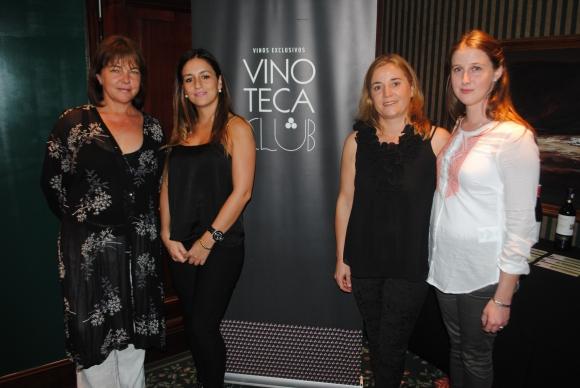 Caterina Viña, Sofía Rocha, Cecilia Siniscalco, Johanna Sinigalia.