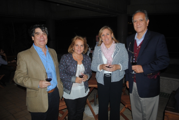 Hugo Roldós, Rosario Camejo,Graciela Reybaud, Alejandro Laborde.