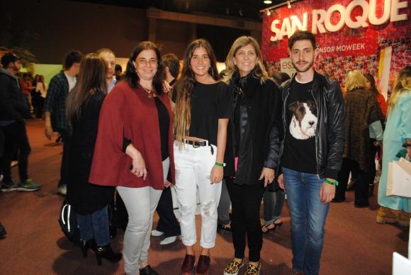 Carina Martinez, Sofía Inciarte, Marcia Guttner, Joaquin Pastorino.