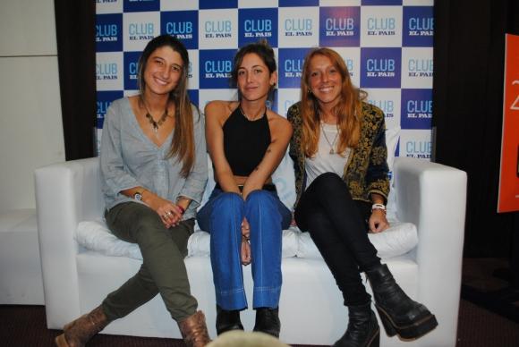Malena Máspoli, Florencia Arijón, Valentina Nuin.