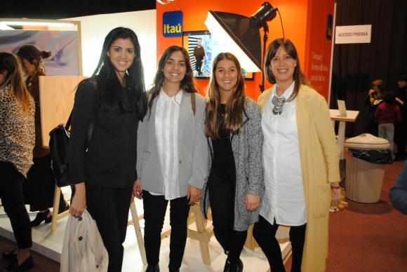 Lucía Cabanas, Sofía Chuayre, Lucía Díaz, Valentina Aguerre.