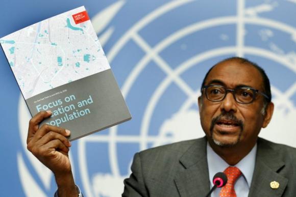 Michel Sidibé, director ejecutivo de ONUSIDA. Foto: Reuters.