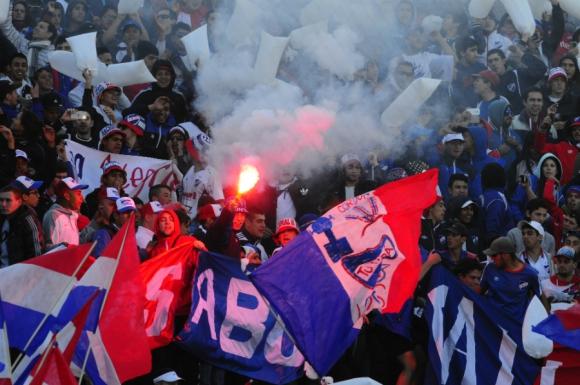 La fiesta tricolor se vivió en cancha y tribunas. Foto: Marcelo Bonjour