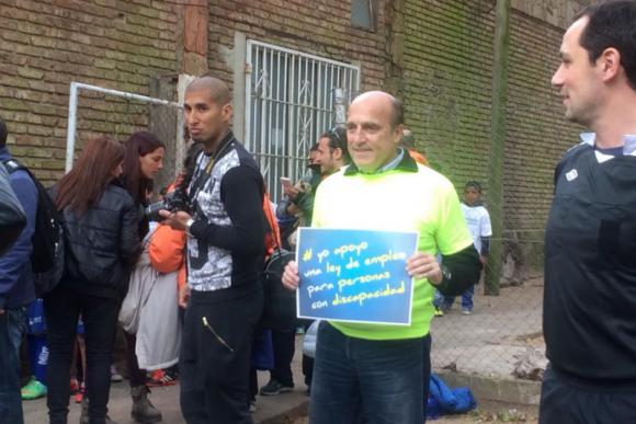 Daniel Martínez también se encuentra presente en el beneficio a Alexis Viera. Foto: J. Aldea