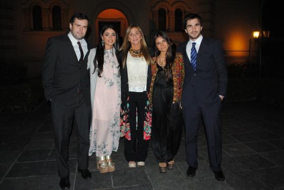 James Forrester, Patricia Boix, Patricia Peñalba, Soledad Ruis, Enrique Boix.
