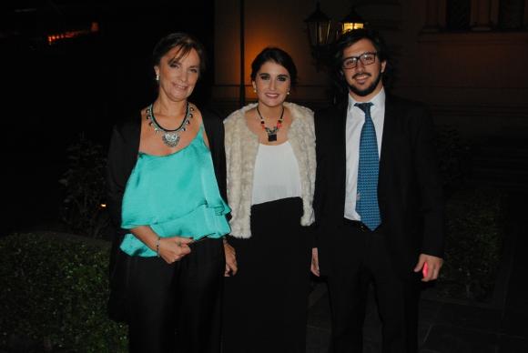Andrea Ferrazzi, Federica de Freitas, Juan Pablo Eviner.