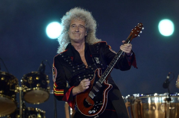 Brian May, un doctor con guitarra.