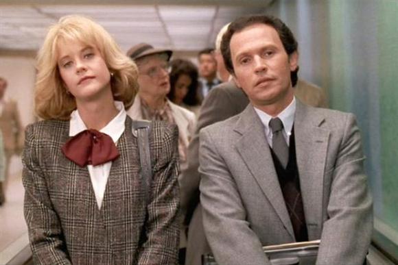 Meg Ryan y Billy Cristal hace 25 años
