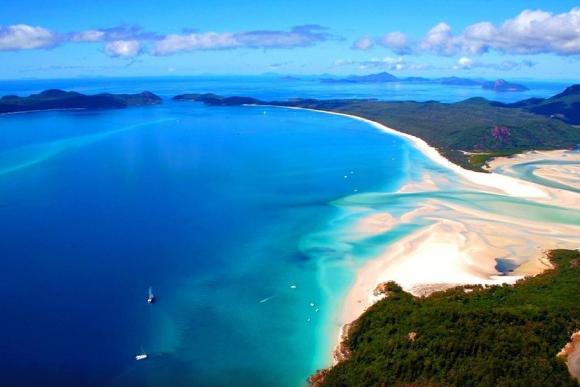 9 - Whitehaven Beach (Isla Whitsunday). Foto: Ollie O/Tripadvisor.