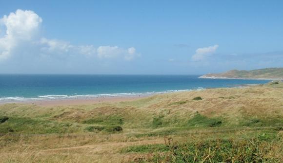 13 - Woolacombe Beach (Reino Unido). Foto: Ramndomtox/Tripadvisor.