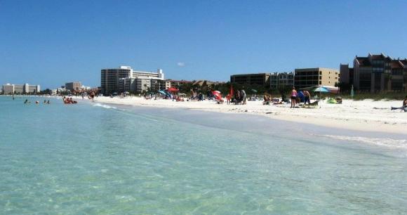 14 - Siesta Beach (Siesta Key, Florida). Foto: Nathanhill007/Tripadvisor.