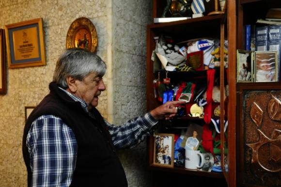 Juan Martín Mugica, una leyenda de Nacional. (Foto: Marcelo Bonjour)