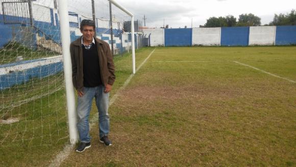 El Zurdo Ricardo Viera, hoy en Melo. (Foto: Néstor Araújo)