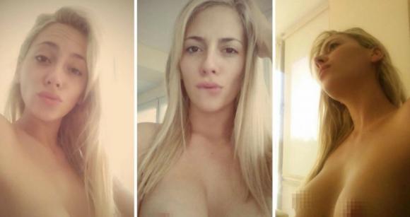 Las fotos de la polémica de Rocío Gancedo (Twitter)