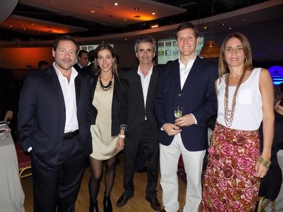 Enrique Garbino, Lucía González Palau, Guzmán García Lenguas, Francisco Pitt, María Laura Bandeira.