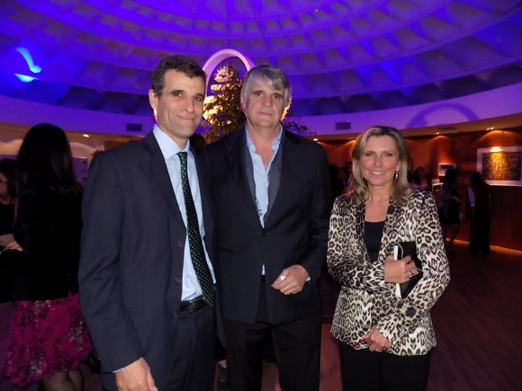 Guillermo Campelo, Gerardo Cancela, Mónica Devoto.