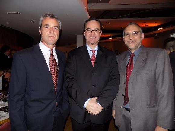 Marcelo Camacho, Pablo Bartol, Ernesto Egaña.