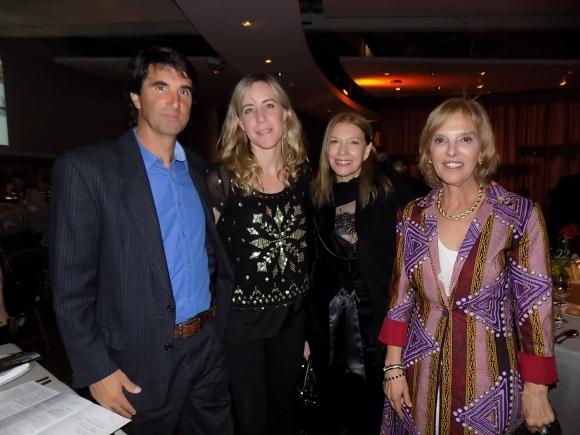 Marcelo Fillipini, Raquel Balsa, Cristina Monzón, Raquel Guliak.