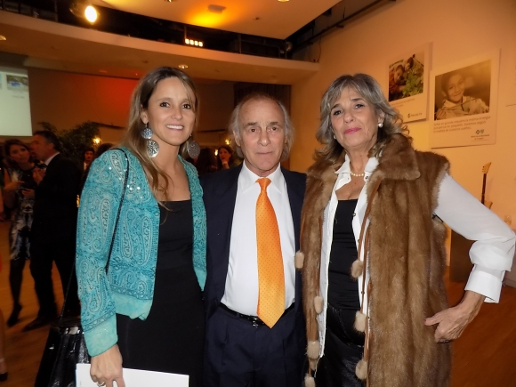 María Castells, Pollo Vázquez, Mabel Martínez.