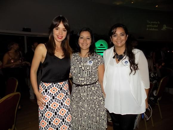 Soledad Ortega, Patricia Pintos, María Beis.