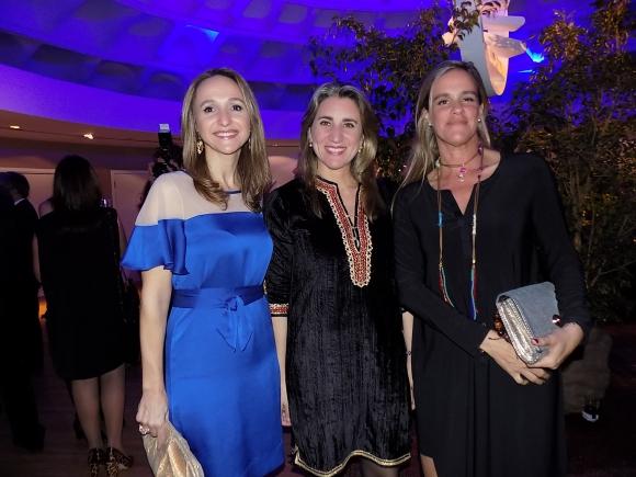 Verónica Raffo, Alejandra Briano, María José Amestoy.