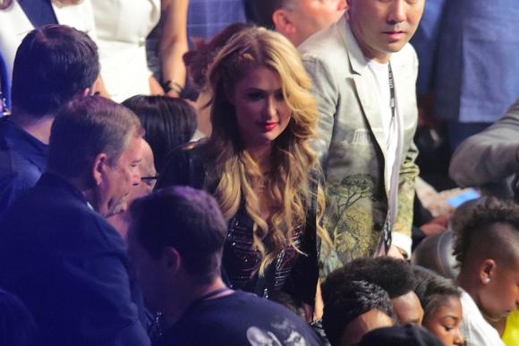 La celebridad Paris Hilton en la
