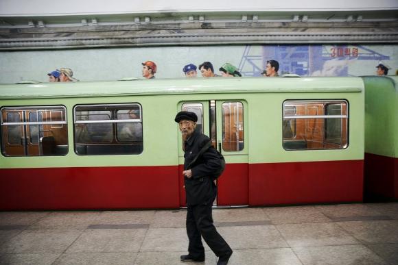 Corea del Norte se prepara para los festejos. Foto: Reuters