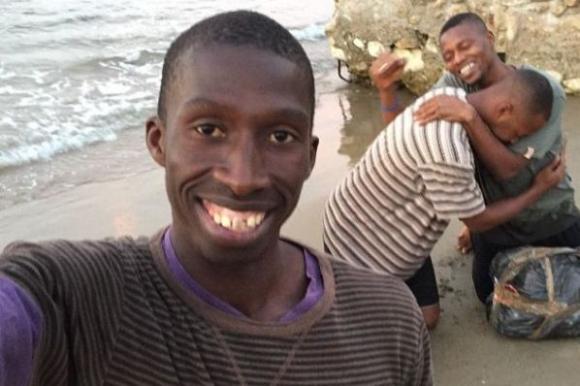 Abdou Diouf, el personaje protagonista del video.