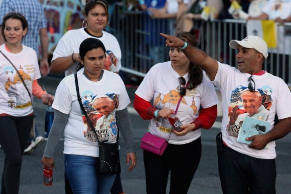 El papa Francisco en EE.UU. Foto: AFP.