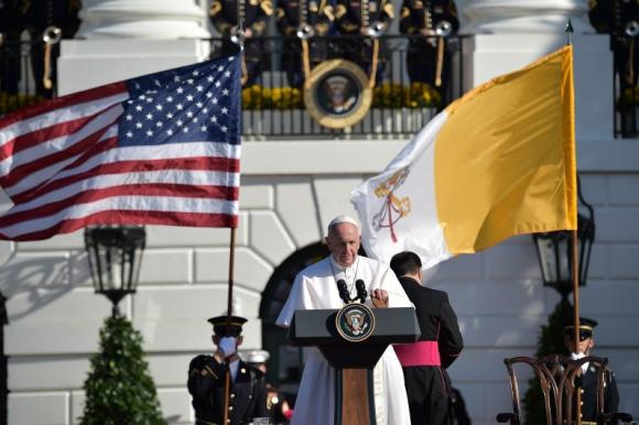 Papa Francisco. Foto: AFP.
