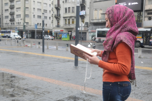 Islámicas en Uruguay. Foto. F. Flores