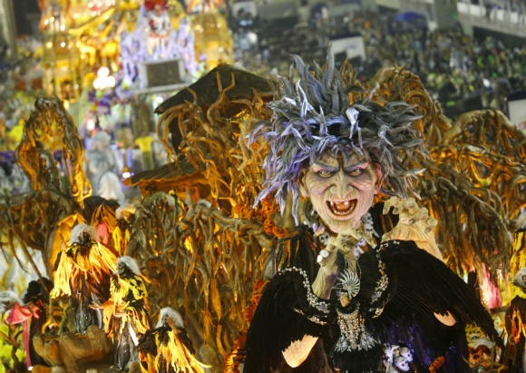 El color del Carnaval de Rio. Foto: Reuters
