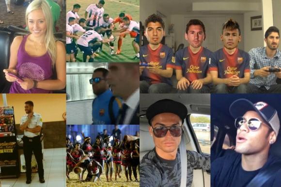 El descuido de Neymar y CR, el festejo mágico, FIFA con jugadores y más