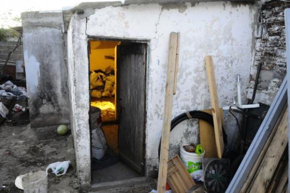 Casa donde estuvo recluida la doctora Milvana Salomone Foto: Marcelo Bonjur