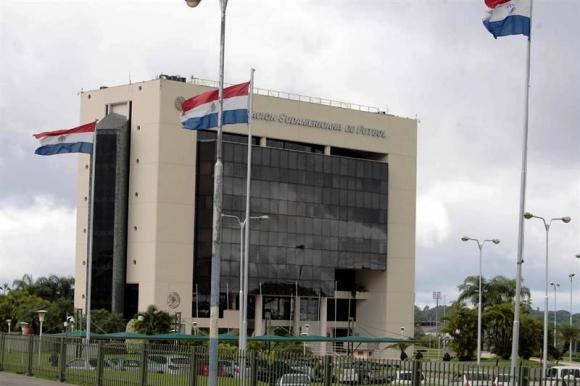 Sede de la Conmebol en Luque, Asunción. Foto: EFE