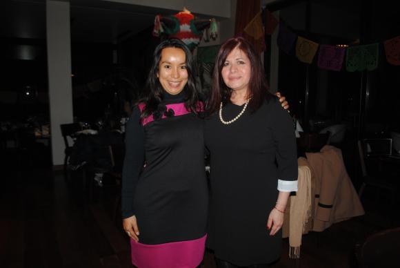 Luz Contreras, Nadia Mendoza.