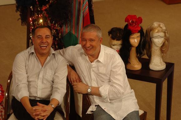 Omar Varela y Petru Valensky, su amigo y actor predilecto.