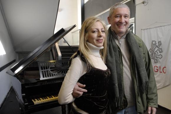 Omar Varela y Graciela Rodríguez: una de las actrices con las que mejor se entiende.