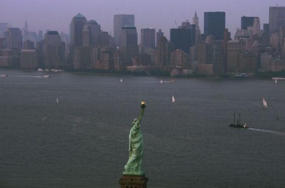 Estatua de la Libertad. Foto: AFP