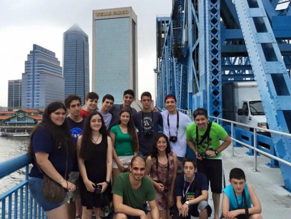 Alumnos y exalumnos del Liceo 4 de Maldonado, triunfadores en Estados Unidos.