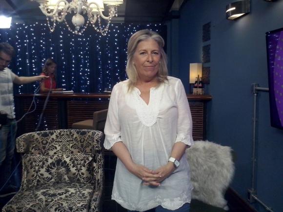 Mercedes Vigil en Tv Show.